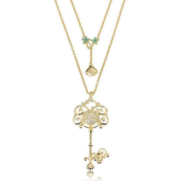 Couture Kingdom: Disney Princess Ariel Necklace - Gold