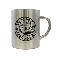 Crash Bandicoot Steel Mug