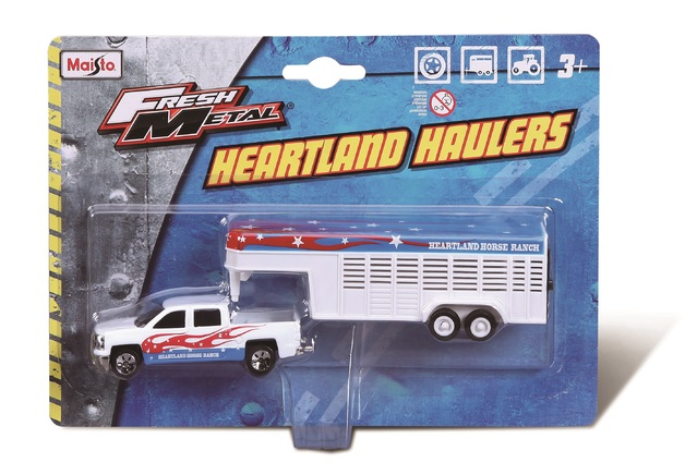 Maisto: Fresh Metal - Heartland Haulers (Assorted Designs)