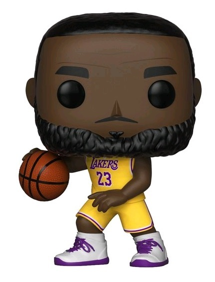 NBA: Lakers - Lebron James (Yellow Uniform) Pop! Vinyl Figure