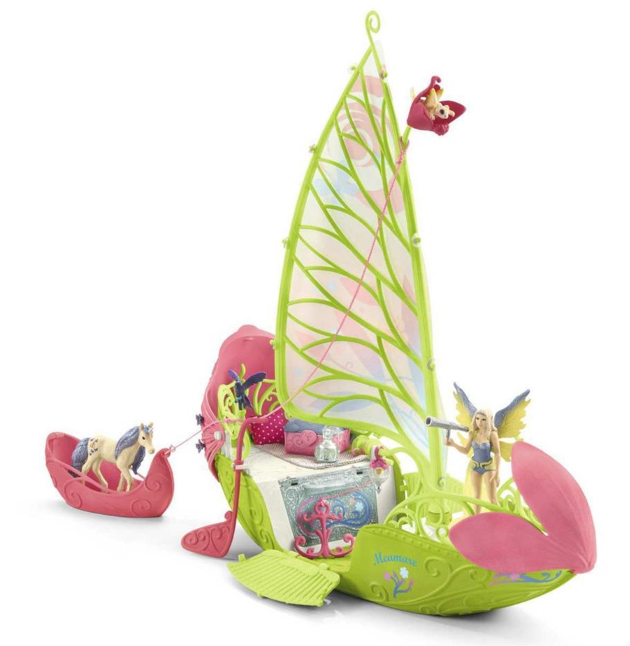 Schleich: Seras Magic Elf Boat - Playset image