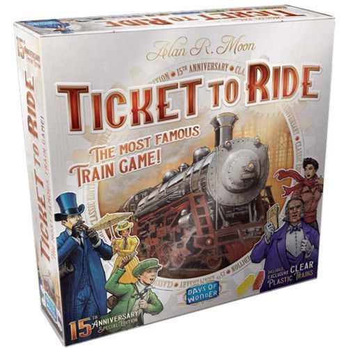 Ticket to Ride: 15th Anniversary - Special Edition image