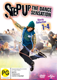 Step Up 1-4 on DVD