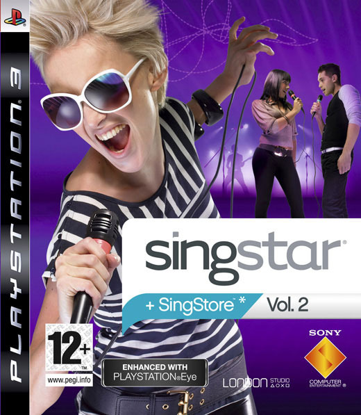 SingStar Vol.  2 (Game Only) for PS3