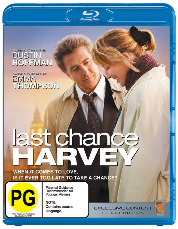 Last Chance Harvey on Blu-ray