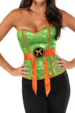 TMNT Sequin Michelangelo Corset (Medium)