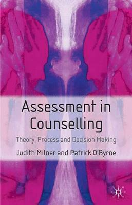 Assessment in Counselling by Judith Milner image