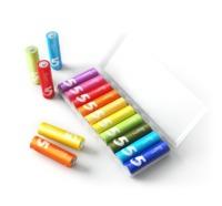 Xiaomi: ZI5 Mi Rainbow (Size 5) - AA LR6 Alkaline Battery Set