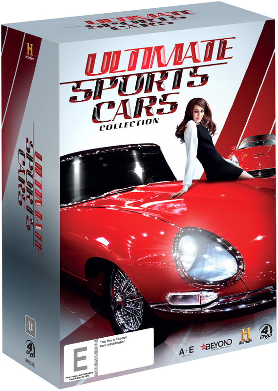 Ultimate Sports Cars Collection on DVD
