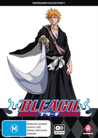 Bleach - Shinigami Collection 1 (Episodes 1-41) on DVD