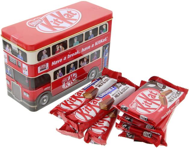 Nestle Kitkat Bus Tin (326g)