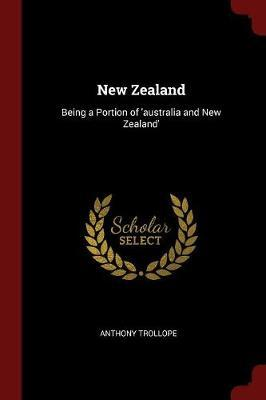 New Zealand by Anthony Trollope image
