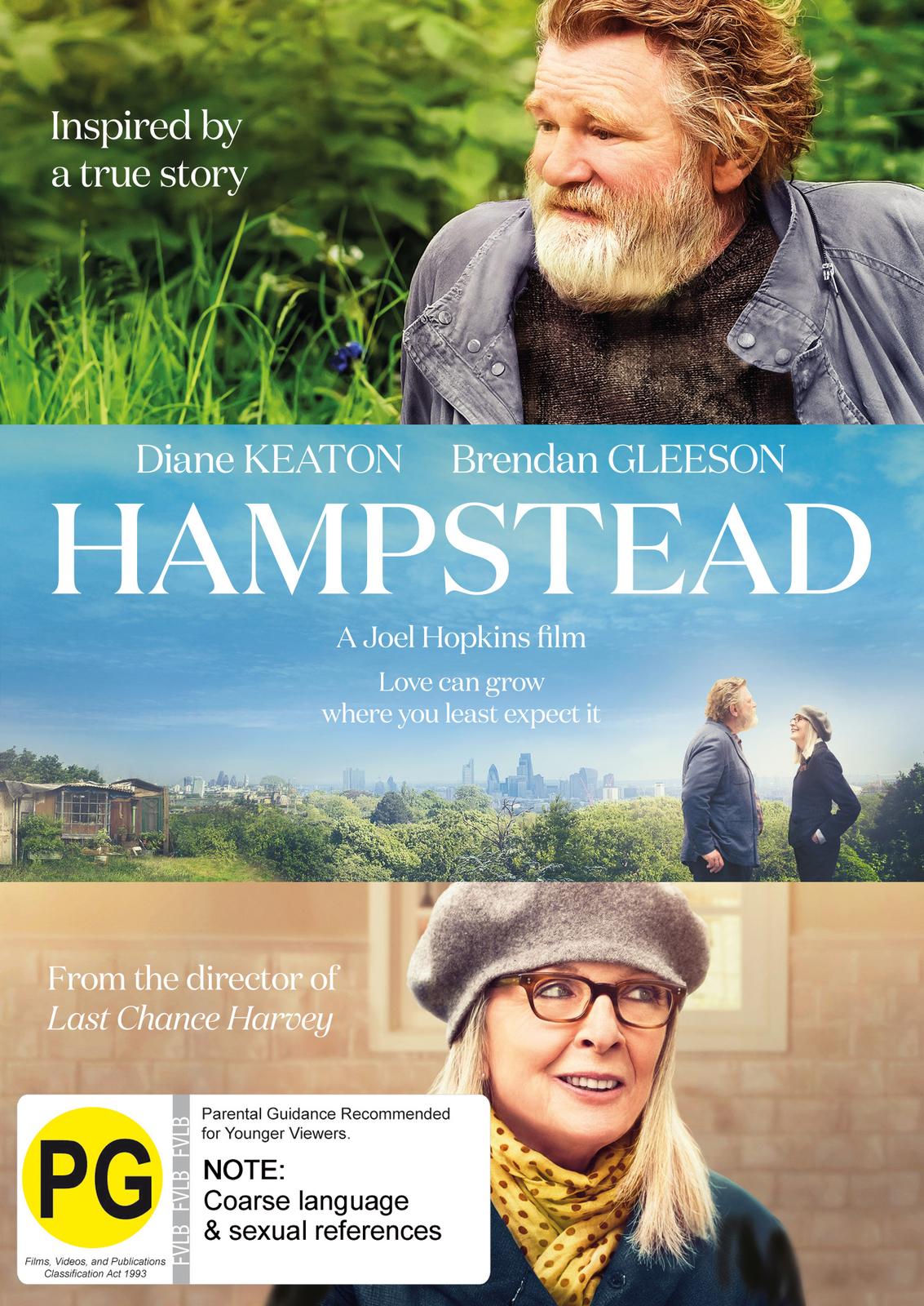 Hampstead on DVD image