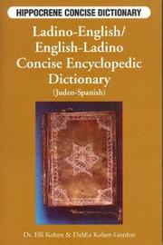 Ladino-English / English-Ladino Concise Encyclopedic Dictionary (Judeo-Spanish) by Elli Kohen image