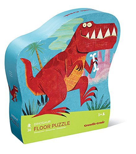 Crocodile Creek: Shaped Box Puzzle - Dinosaur