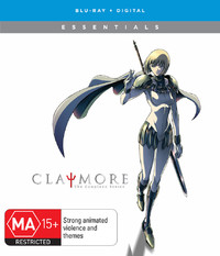 Claymore Complete Series on Blu-ray