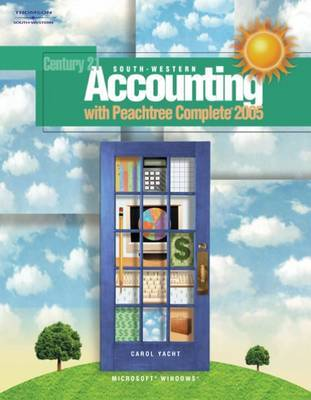 South-Western Accounting with Peachtree Complete by Carol Yacht image