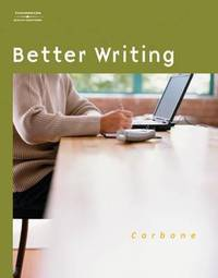 Better Writing by Mary T. Carbone image