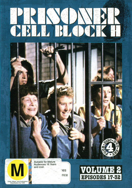 Prisoner - Cell Block H: Vol. 2 - Episodes 17-32 (4 Disc Set) on DVD