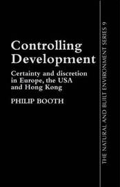 Controlling Development by Philip Booth image