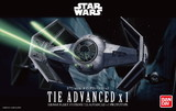 Star Wars Darth Vader TIE Advanced x1 1:72 Scale Model Kit
