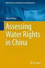 Assessing Water Rights in China by Yahua Wang image