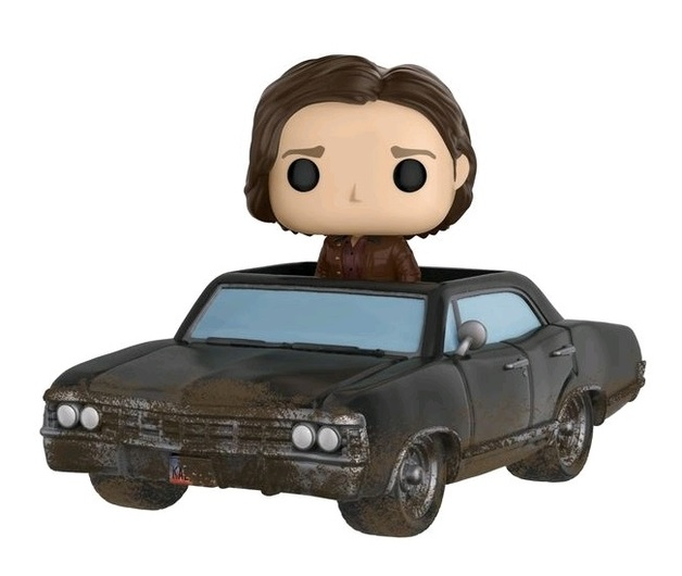 Supernatual - Baby with Sam Damaged Pop! Rides Vinyl Set (with a chance for a Chase version!)