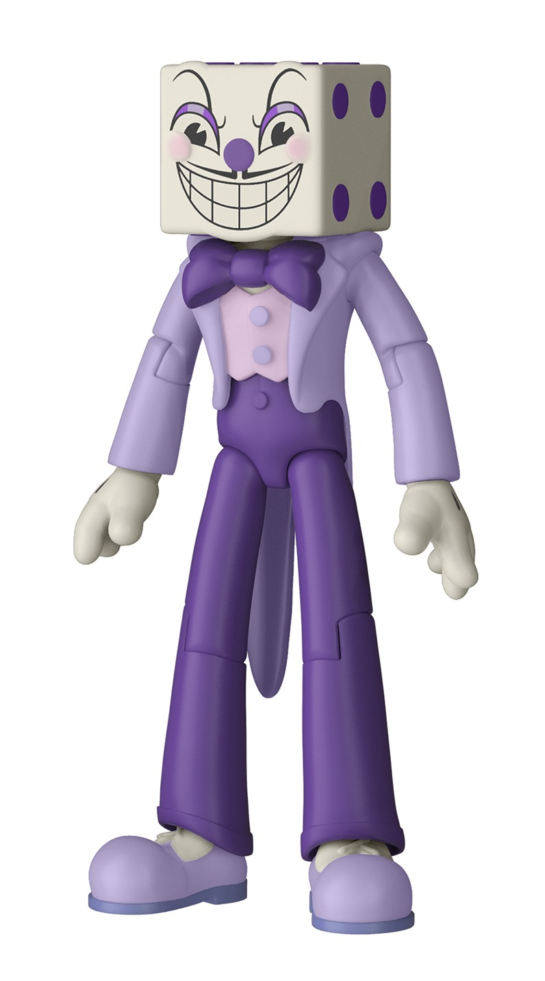 "Cuphead: 3.75"" Action Figure - King Dice image"