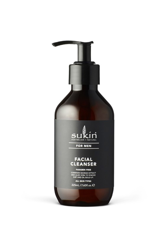 Sukin for Men Facial Cleanser (225ml)