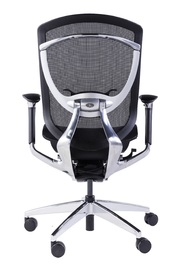 GT X-Pace Gaming Chair - Black & Chrome for