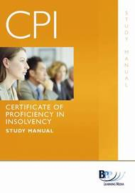 Certificate of Proficiency in Insolvency: Study Text by BPP Learning Media image