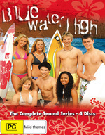 Blue Water High - Complete Series 2 (4 Disc Set) on DVD