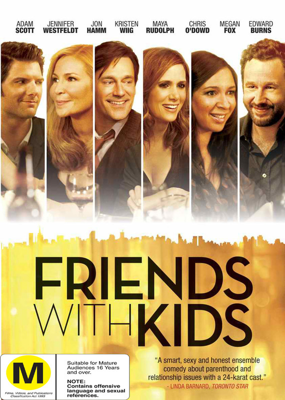 Friends With Kids on DVD