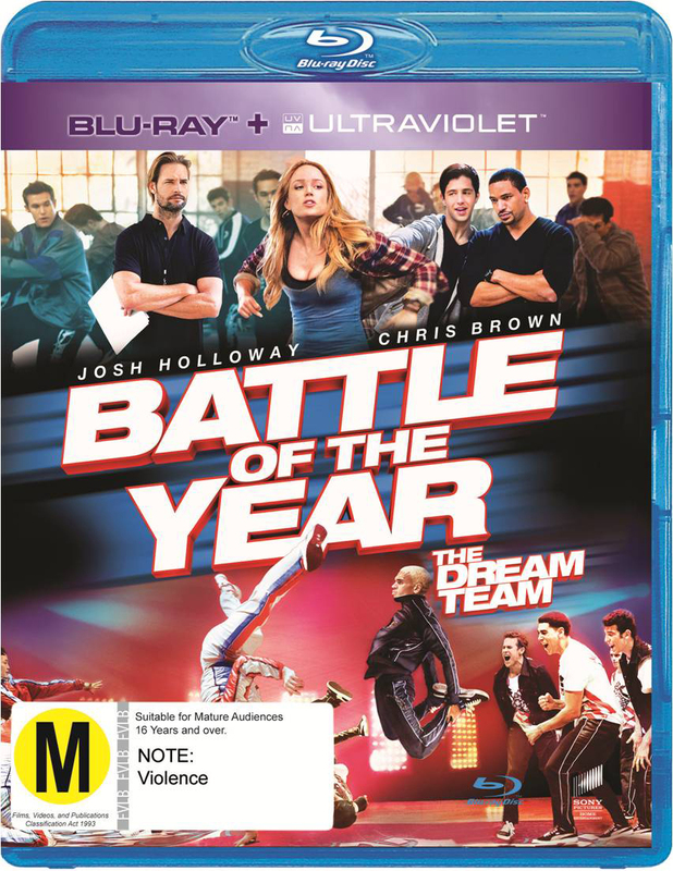 Battle of the Year: The Dream Team on Blu-ray
