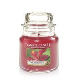 Yankee Candle Medium Jar - Pink Hibiscus (411g)
