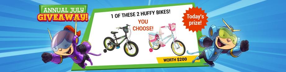 Huffy Bike Giveaway!