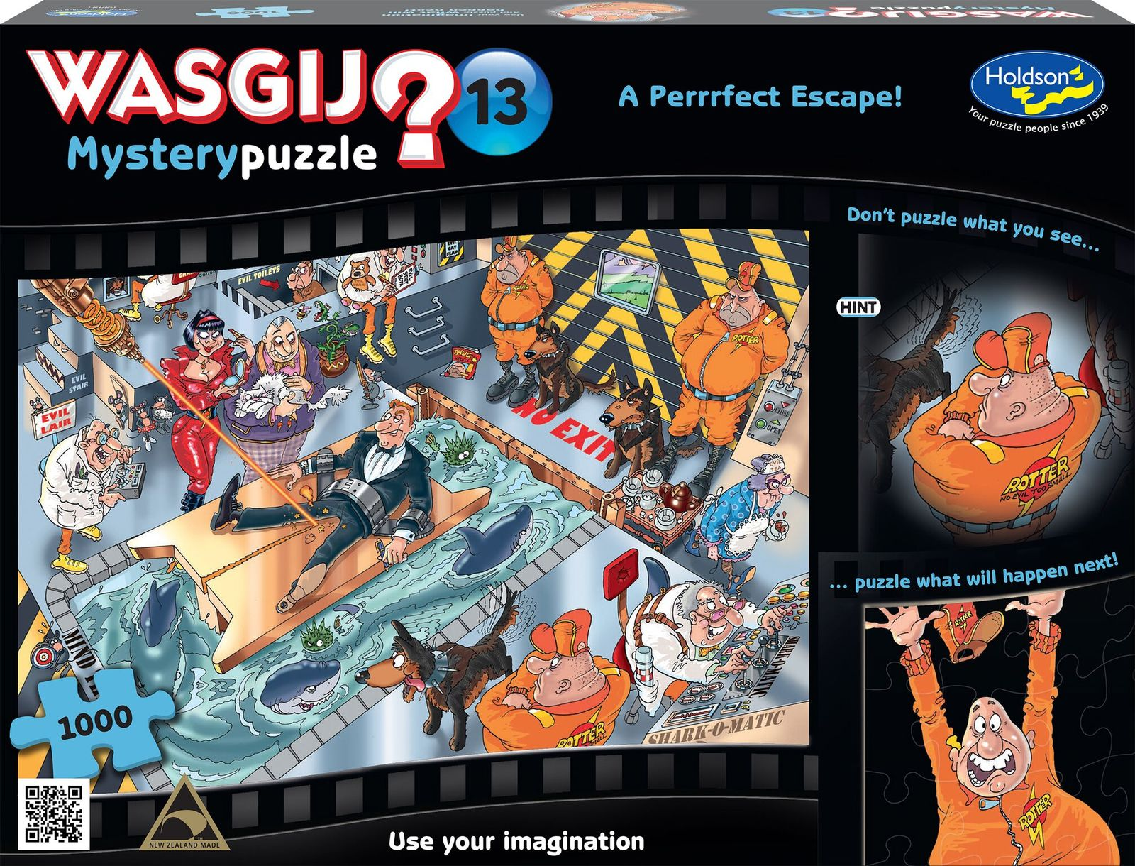 Wasgij: 13 - Mystery A Purrfect Escape 1000 Piece Puzzle image