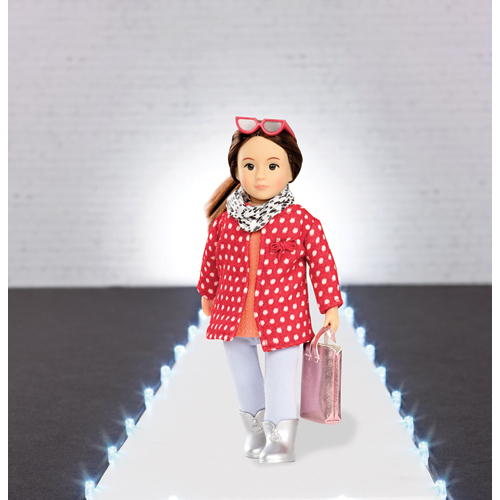 "Lori: 6"" Doll Coat Outfit image"