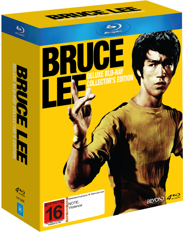 Bruce Lee: Deluxe Blu-Ray Collector's Edition | Blu-ray | Buy Now