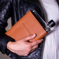 Memobottle: Leather Sleeve - A5