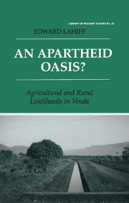 An Apartheid Oasis? by Edward Lahiff