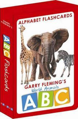 World Animals Flashcards Abc by Garry Fleming image
