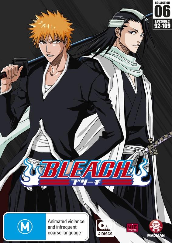 Bleach Collection 06 (Eps 92-109) (Season 5) | DVD | In