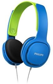 Philips On Ear Kids Headband Headphones (Blue)