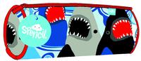 Spencil: Barrel Pencil Case - Sharks