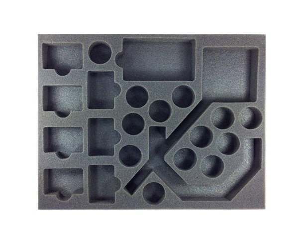 "Battle Foam: Star Wars Armada - Tokens & Extra Cards Foam Tray (BFL - 1"")"
