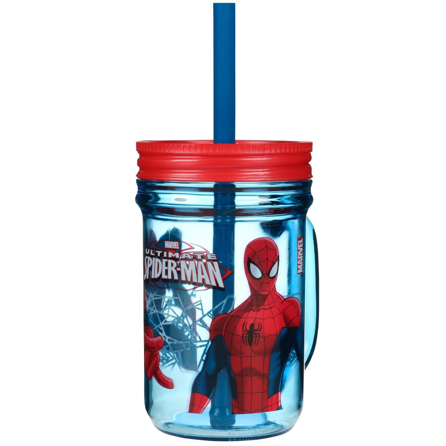 Spiderman Mason Jar image