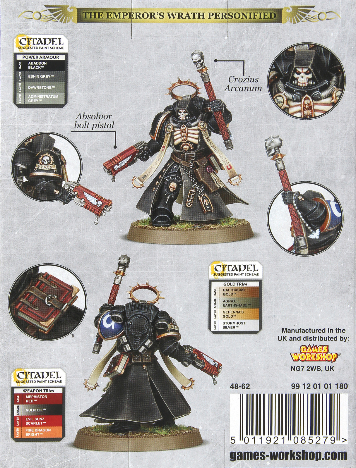 Warhammer 40,000 : Space Marine Primaris Chaplain image