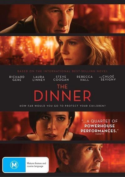 The Dinner on DVD