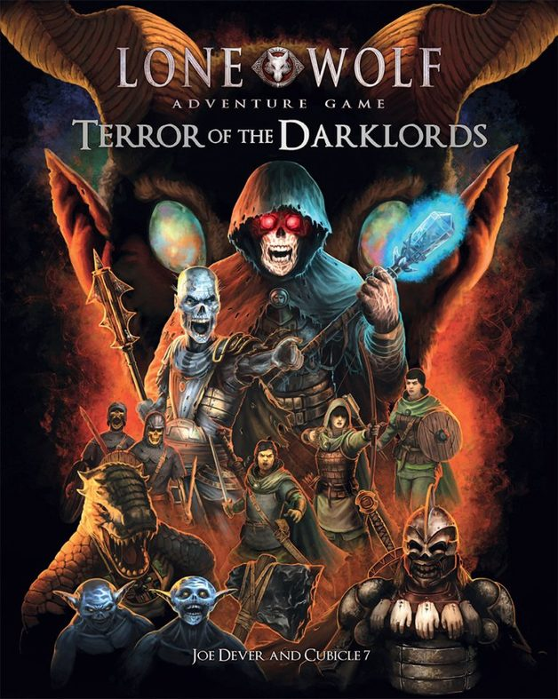 The Lone Wolf Adventure Game: Terror of the Darklords (Hardcover)